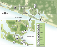 Grayton Beach State Park Map