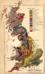 Great Britain Geological Map