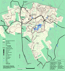 Great Brook Farm State Park trail map