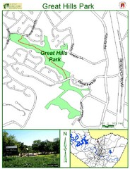 Great Hills Park Map