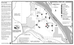 Great River Bluffs State Park Summer Map