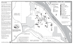 Great River Bluffs State Park Winter Map