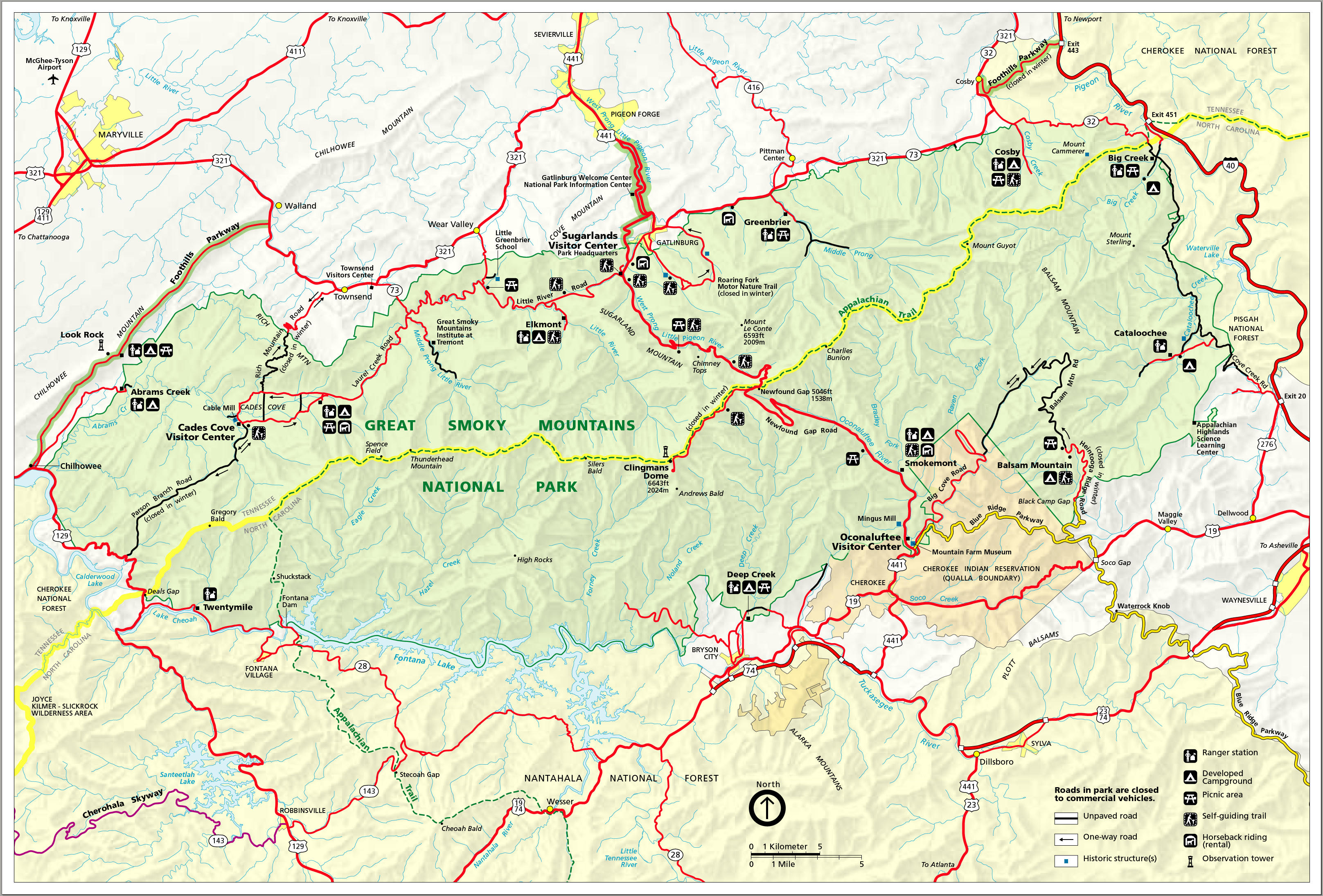 nantahala river map with Great Smokey Mountains National Park Trail Map on Fun Things Do Stanley Idaho in addition Waterrock Knob To Mt Lyn Lowry July 12 2016 besides Chattooga Wild Scenic River additionally Attractions as well Pisgah National Forest.