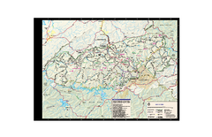 Great Smoky Mountains National Park - Trail map