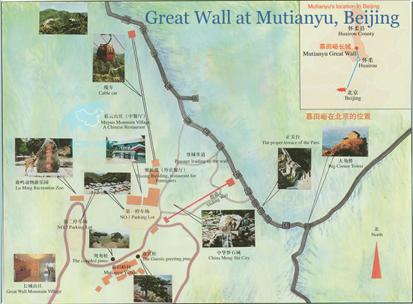 Great Wall Of China Map View.Great Wall Mutianyu Great Wall Map Mutianyu Mappery