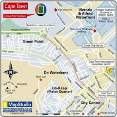 Green Point Stadium, Cape Town, South Africa Map