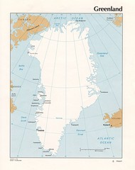 Greenland Tourist Map