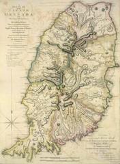 Grenada Island Road Map Grenada Mappery - Road map of grenada island