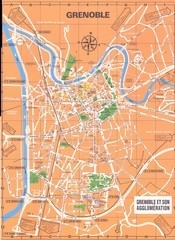 Grenoble Map