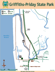 Griffiths-Priday State Park Map