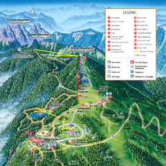 Grouse Mountain Summer Trail Map