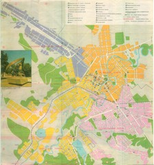 Grozny Tourist Map