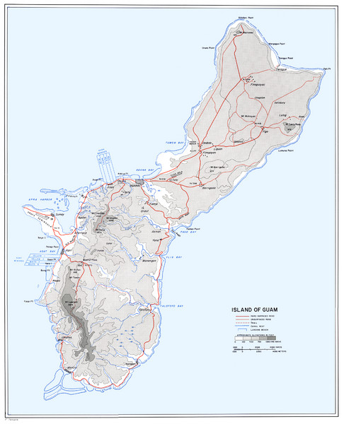 Guam wwii map guam mappery fullsize guam wwii map gumiabroncs Images