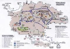 Michoacan State Tourist Map Morelia Mexico Mappery - Michoacan mexico map