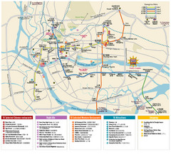 Guangzou Metro and Guide Map 2007