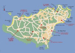 Guernsey Church Map