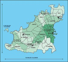 Guernsey Parish Map
