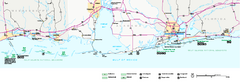 Gulf Islands National Seashore Park Map