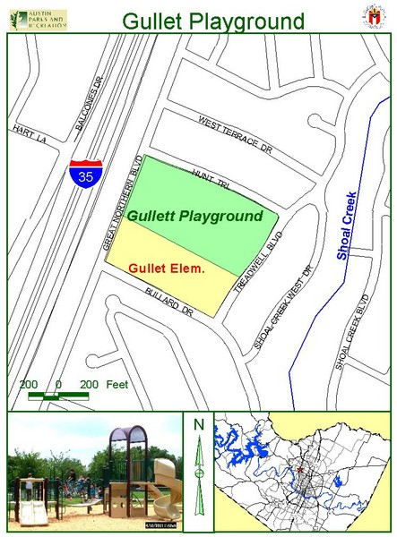 Gullet Playground Map