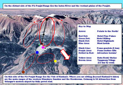 Gulmarg Ski Trail Map
