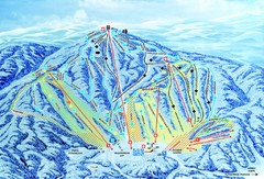 Gunstock Ski Area Ski Trail Map