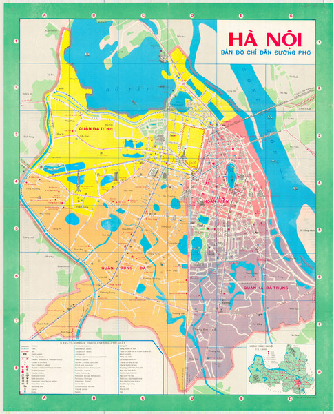 Hanoi City Bus Line Map Hanoi • mappery