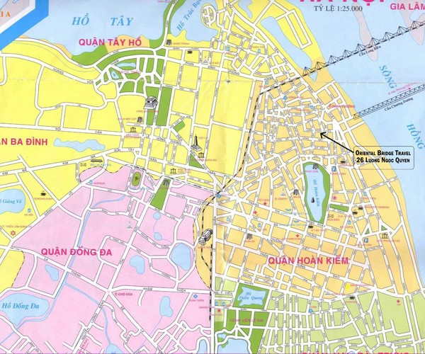 Map Ha Noi.Real Life Map Collection Mappery
