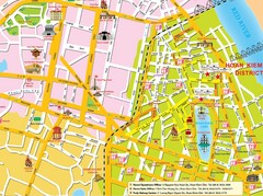 Ha Noi Tourist Map