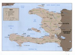 Haiti Tourist Map