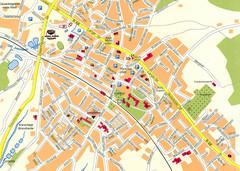 Leipzig HBf Map leipzig bahnhof mappery