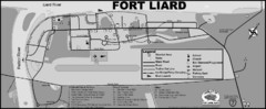 Hamlet of Fort Liard Area Map