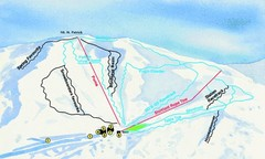 Hammer Springs Ski Trail Map