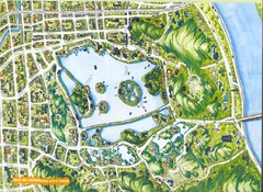 Hangzhou City Tour Map