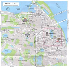 Hanoi City Map