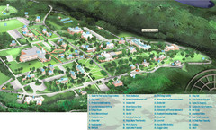 Hanover College Campus Map