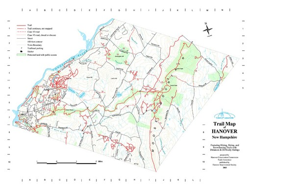 Hanover Trail Map
