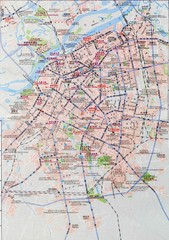 Harbin City Tourist Map