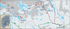 Hardangervidda National Park Route Map