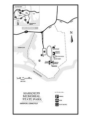 Harkness Memorial State Park map