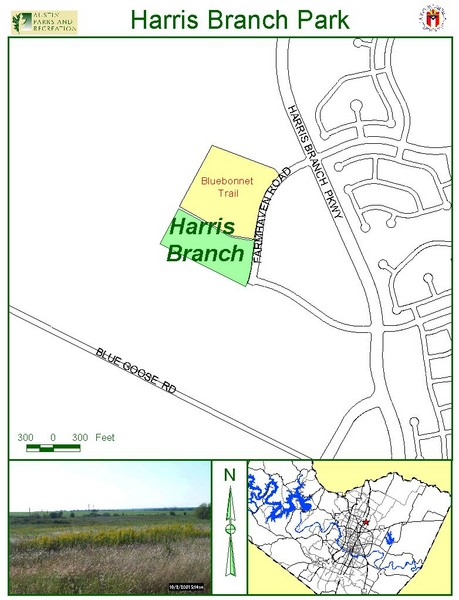 Harris Branch Park Map
