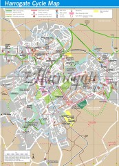 Harrogate Cycling Map