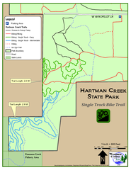 Hartman Creek State Park - Single Track Bike...