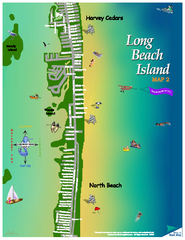 Harvey Cedars, New Jersey Map