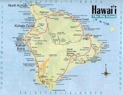 Hawaii Tourist Map