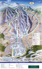 Haystack Club Ski Trail map