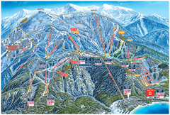 Heavenly Valley Ski Trail Map