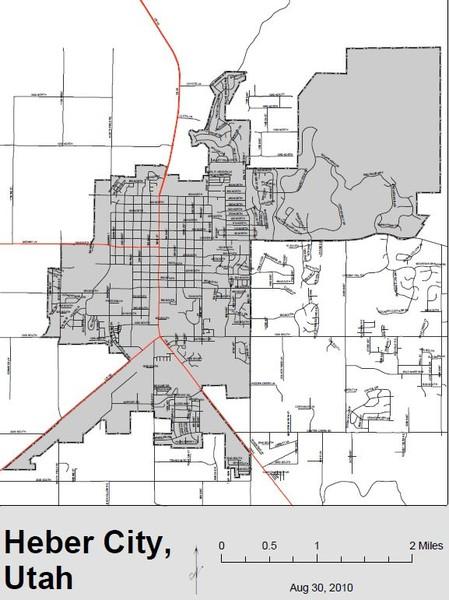 Heber City Street Map Heber City Utah Mappery