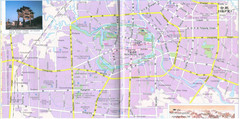 Hefei City Tourist Map