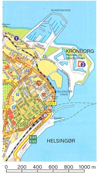 Frederiksborg Castle Hillerod Map hillerod dk mappery