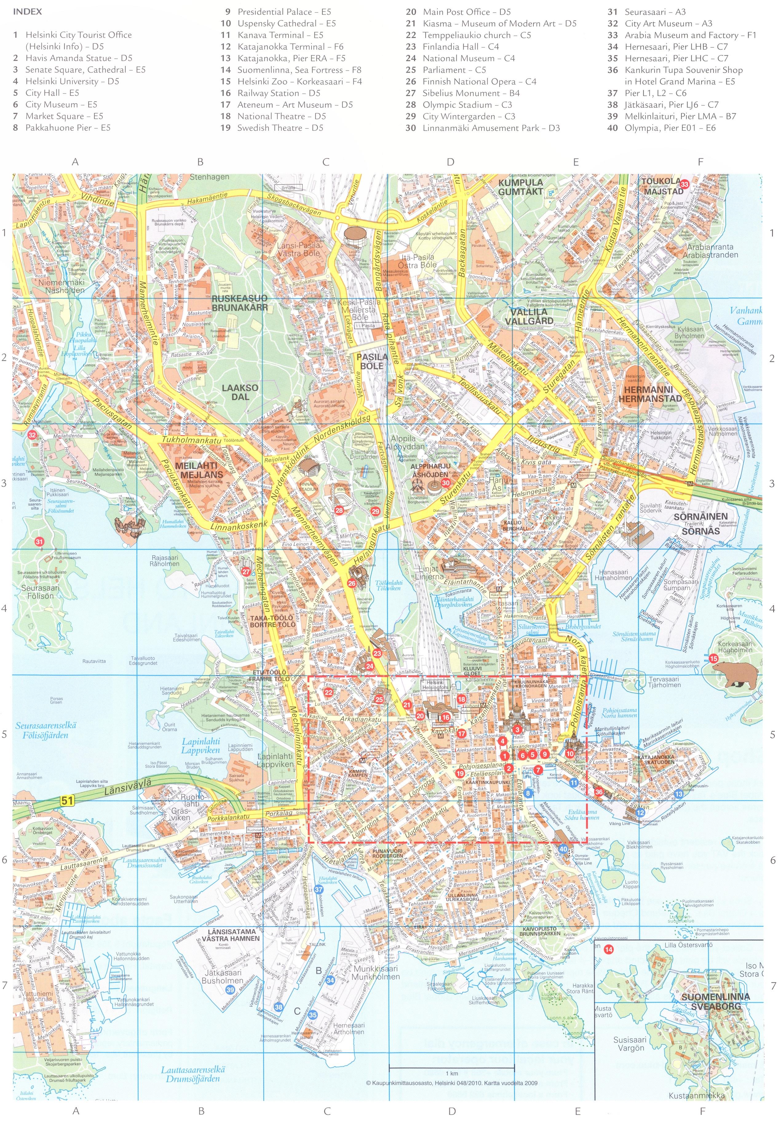 Maps Helsinki